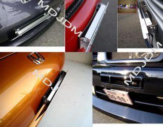 JDM Tilt License Plate Adjustable Honda Toyota Nissan