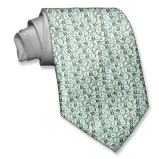 Dollar Bill Tie! Money Tie