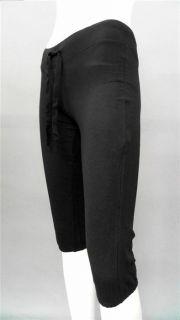 Miley Cyrus Max Azria Junior XS Comfort Stretch Capri Pants Black