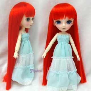 Mimi Collection Obitsu 60cm Gretel MSD Hujoo BJD Doll Long Bang 8 Wig