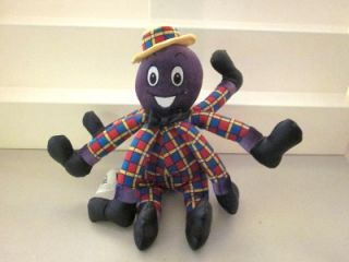 The Wiggles Show Talking Singing Songs Henry Octopus Plush Stuffed 12