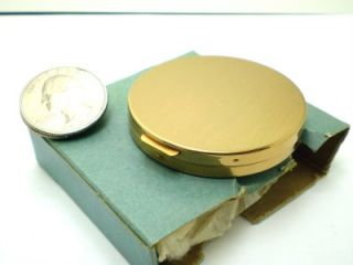 Vintage RARE Flips Open Mini Powder Compact w Box