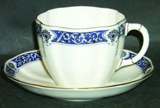 Royal Crown Derby Milldale Gold Cup Saucer 543834