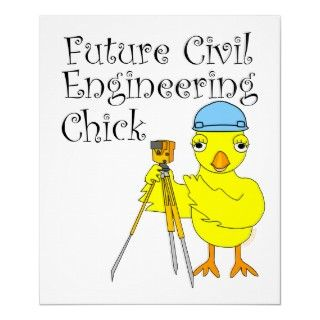 yellow chick wearing a hard hat and using a transit and future