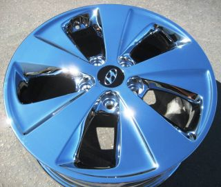 17 Factory Hyundai Sonata Hybrid Chrome Wheels Rims 2011 2013