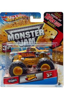 2012 Hot Wheels Monster Jam Monster Truck Team Hot Wheels Originals