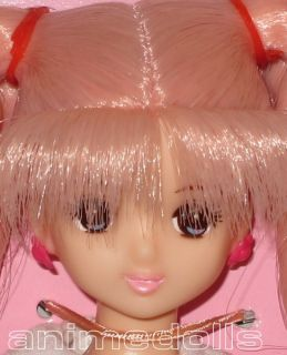 Jenny Friend Licca Chan Castle Miho Doll Pink Hair Blue Eyes MUST