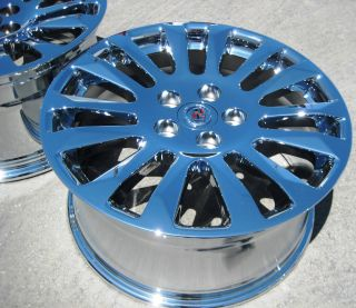 STOCK 4 18 FACTORY GM CADILLAC CTS SEDAN CHROME WHEELS RIMS 2008 13