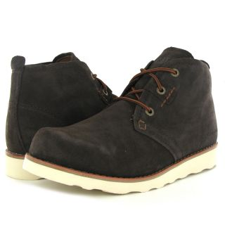 Caterpillar Milton Brown Leather Mens Boots
