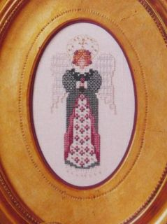 Angel Cross Stitch Patterns Just Nan Sampler Charts Beaded VTNS