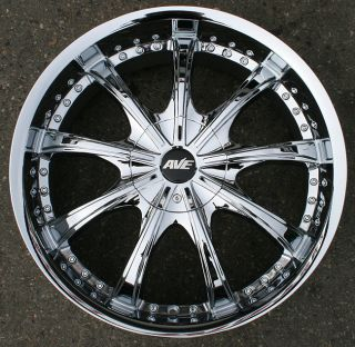 RVM 605 20 Chrome Rims Wheels Honda Odyssey Pilot