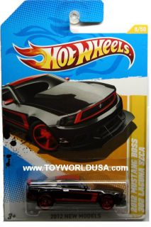 2012 Hot Wheels New Models 8 2012 Ford Mustang Boss 302 Laguna Seca
