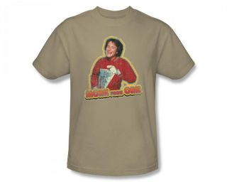 Mork Mindy Mork from Ork Vintage Style 80s TV Show T Shirt Tee