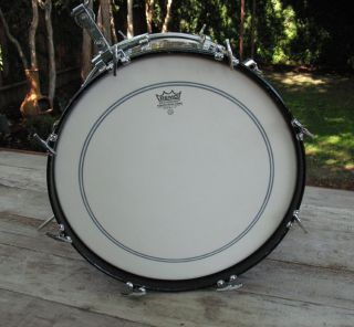 Ludwig Black Oyster Pearl Drum Kit Set The Beatles Ringo Starr