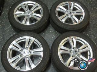 Four 2011 12 Honda CRZ Factory 16 Wheels Tires Rims OEM Civic Accord.