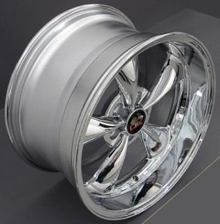 10 Chrome Bullitt Wheels Nexen Tires Rims Fit Mustang® 94 04