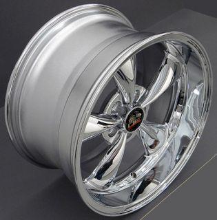 10 Chrome Bullitt Wheels Nexen Tires Rims Fit Mustang® 94 04