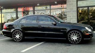 20 inch Niche Circuit Black Wheels Rims 5x112 Mercedes Eclass Cclass
