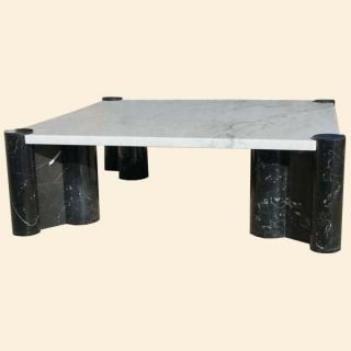44 1 2 Knoll GAE Aulenti Marble Jumbo Coffee Table