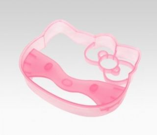 Sanrio Hello Kitty Dark Pink Cookie Cutter Face ( Brand New ) 44993 8