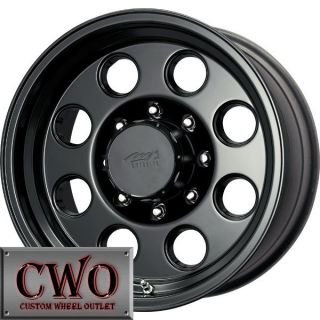 17 Black MB MB 72 Wheels Rims 5x114 3 5 Lug Jeep Wrangler Ranger