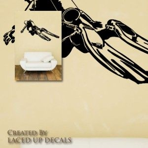 Diving Huge Wall Vinyl Decal, fins mask,Suunto,regulator,wetsuit,dive