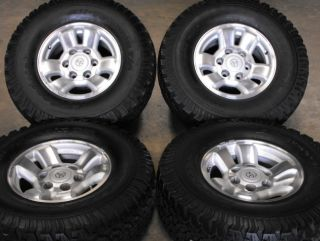 15 TOYOTA TACOMA 4RUNNER OEM WHEELS AND TIRES 31X10.50R15 31/10.50/15