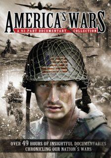 Americas Wars New 12 DVD Set 93 Documentaries 49 Hours 826831071015