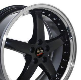 20 x8 5 10 Black Cobra Style R Rims Deep Dish Fit Mustang® GT
