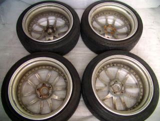 Work vs SS Wheels Alloy Rims 18 8 5J R32 r33 R34 s13 s14 S15 RX7 Supra