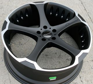 Giovanna Dalar 5 22 Black Rims Wheels Nissan Murano FX35 FX45 22 x 9