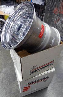 Centerline Auto Drag Race 065157547 polished 15 X 15 inch wheels