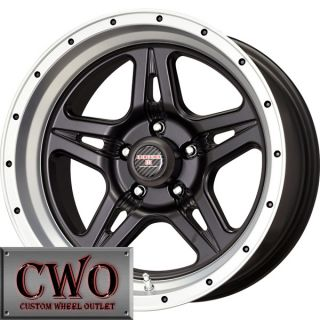 17 Black Level 8 Strike 5 Wheels Rims 5x127 5x5 5 Lug