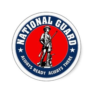 National Guard of the United States Stickers
