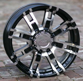 Helo 835 Wheels H2 Chevy GMC Dodge 2500 3500 Trucks 8 Lug 8x6 5