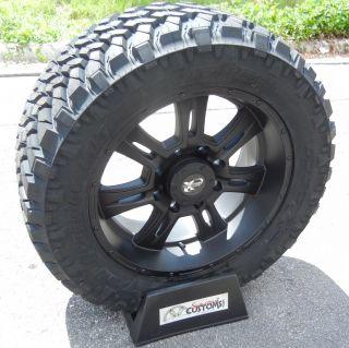 20 Black Procomp Wheels Rim 33 Nitto Trail Grappler Tire 2011 Up