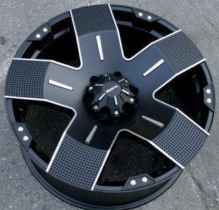 Ballistic Hyjak 22 Black Rims Wheels FJ Cruiser