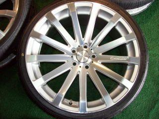 20 Mercedes MRR HR9 Wheels Tires SL CLS SL500 CLS500 SL550 CLS550