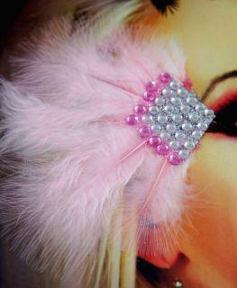 Sexy Costume Show Girl Flamingo Eye Shinny Diamond Reusable Xotic Eyes