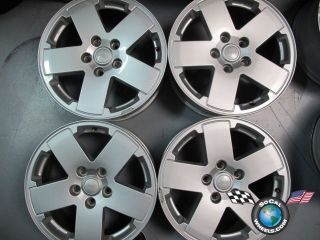 Four 07 11 Jeep Wrangler Factory 18 Wheels Rims 9076 1BB71TRMAB