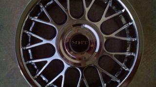 New Chrome Wheels Rims 16 inch 4 Lug 4x100 Honda Civic Toyota