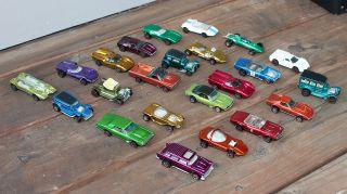 Lot of 23 Redline Hot Wheels Toy Cars Nomad Firebird Corvette Vicky