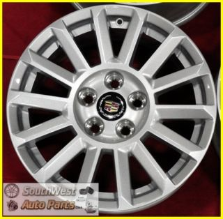 10 11 Cadillac cts 17 Silver 14 Spoke Wheel New Take Off Factory Rim
