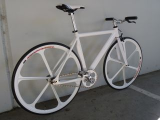 Rear 700c Teny Rim White Aerospoke Pimp Your Fixie This Year