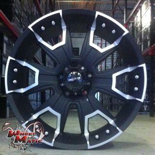 Ballistic 904 6x139 7 Et 12 Black Offroad Wheels Rims XD Fue