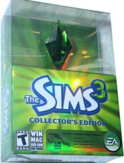 The Sims 3 Gold Foil Collectors Edition PC w Plumbob Carabiner New
