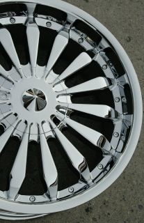 City 20 Chrome Rims Wheels Toyota Tacoma 95 Up 20 x 8 5 6H 15
