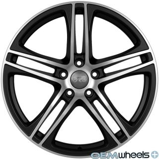 19 Black Machine s Line R8 Style Wheels Fits Audi Q5 Quattro VW