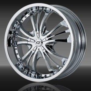 18 inch Gianna Momentum Chrome Wheel Rim 5x120 Z3 Z4 x3 x5 x6 Lacrosse