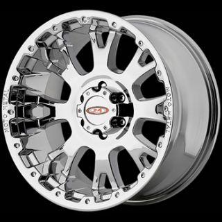 20x9 Chrome Wheels Rims Moto Metal MO956 7x150